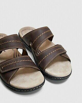 Ad Ebay Hush Puppies Andrew Sandals Sandal Brown Slip On Summer