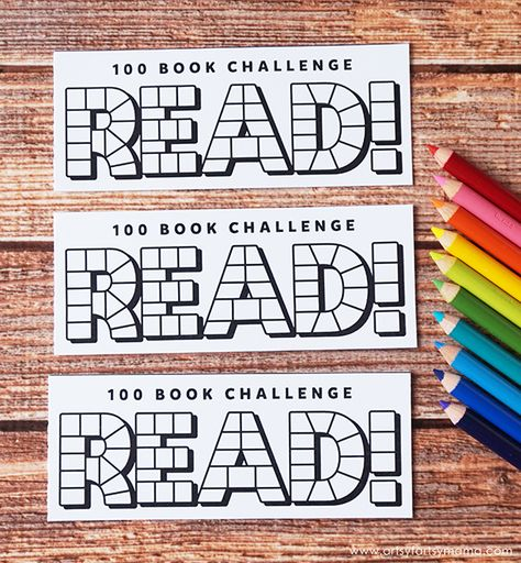 Book Reading Challenge Bookmarks Read 100 books this summer with Free Printable Reading Challenge Bookmarks!Read 100 books this summer with Free Printable Reading Challenge Bookmarks! Reading Logs, Kids Reading, Teaching Reading, Star Reading, Reading Library, Reading Bookmarks, Bookmarks Kids, Printable Bookmarks, Printables