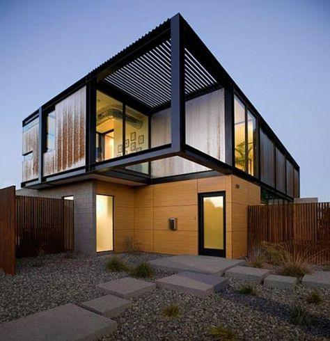 Moderne Fassaden Wollen Sie Eine Originelle Hausfassade Gestalten |  Architektur U2013 Moderne Häuser Und Gebäude | Pinterest