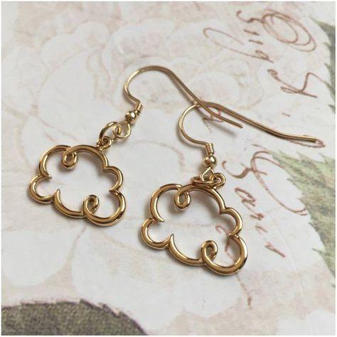 Cute Jewelry, Jewelry Crafts, Jewelry Accessories, Jewelry Design, Gold Jewelry, Handmade Wire Jewelry, Recycled Jewelry, Accesorios Casual, Cute Earrings