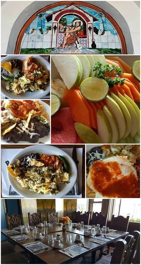 Mexican Breakfast at the Rosarito Beach Hotel