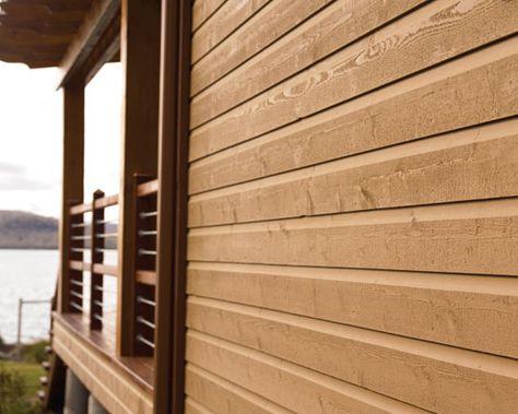 10 best Revêtement extérieur images on Pinterest Panelling - revetement exterieur imitation bois