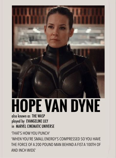 Hope van dyne by Millie