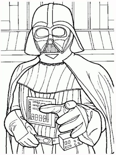 Disney Easter Bunny Coloring Pages Darth Vader Star Wars Coloring Pages Printable Colori Star Wars Coloring Book Star Wars Drawings Star Wars Coloring Sheet