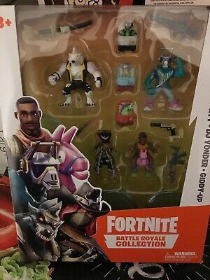 Fortnite Battle Royale Figures 4 Pack Gift Idea Dire//Calamity//DJ Yonder//Giddy Up