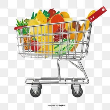 Supermarket shopping cart PNG and Vector in 2020 Grocery supermarket Logo design free templates Supermarket