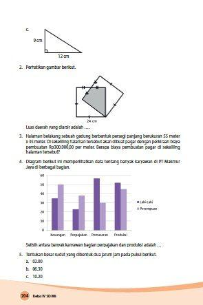 Kunci Jawaban Buku Paket Matematika Kelas 4 Kurikulum 2013 Matematika Kelas 4 Matematika Buku