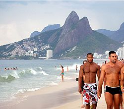 Gay Beach In Rio De Janeiro From Our Gay Travel And Gay Tour - Rio de janeiro vacation