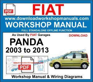 Fiat Panda Workshop Repair Manual Download