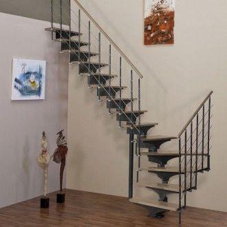 Escalier Compact Droit Minka Interio Chene Minka Stairs Home
