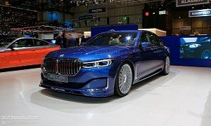 Facelifted Alpina B7 Isn T Your Average Bmw 7 Series With Images