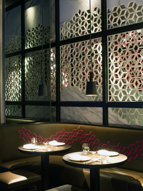 Discover The Best Interior Design Inspirations From All Over The World Take A Bit Of The Chin Chinese Restaurant Wall Accents Decor Restaurant Interior Design