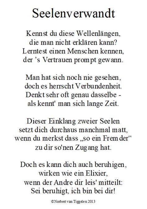"""Wenn Sie auf dieses Gedicht klicken, besuchen Sie das Buch """"Streicheleinheiten"""" von Norbert van Tiggelen, indem weitere ähnliche Gedichte zu lesen sind. Viel Spaß damit!"""