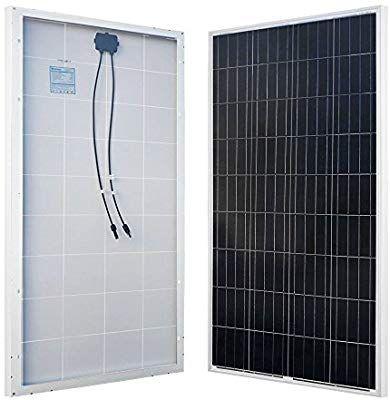 Amazon Com Renogy 160w 12v Solar Panel High Efficiency Module Off Grid Pv Power For Battery Charging Boat Carav 12v Solar Panel Off Grid Solar Solar Panels