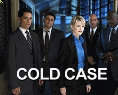 Cold case  I really enjoy these murder mysteries set in the Philadelphia area