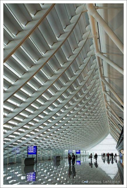 Taiwan Taoyuan International Airport Architecture In 2019