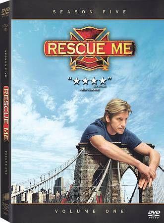 Don T Miss This Rescue Me Season 5 Volume 1 Dvd 2009 3 Disc Set Ebay Dvd Rescue I Movie