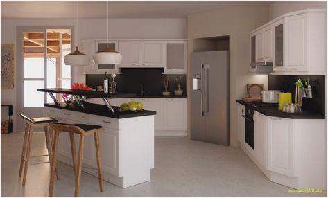 Luxury Modele Cuisine Avec Ilot Cuisine Ouverte Cuisines Design