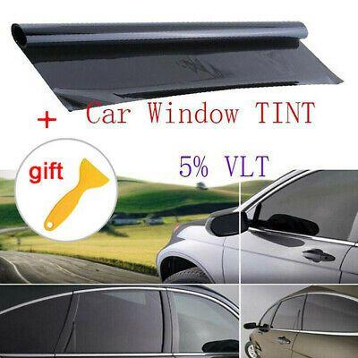 Details About Uncut Window Tint Roll 5 Vlt 39 X 20 Home