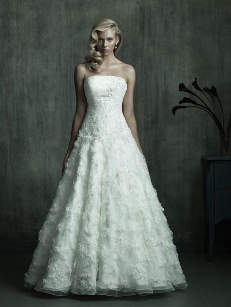 Allure C152  Wedding Dress. #allure #wedding #dress