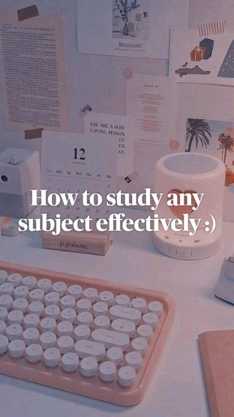 How to study any subject effectively :) #study #studyholic #studyplanner #studytips #studytricks