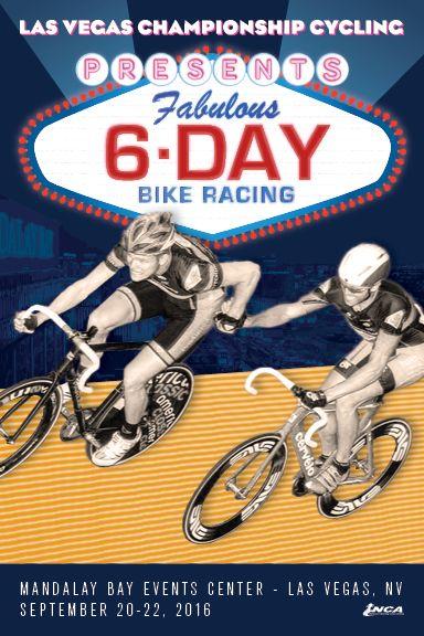 Bicycling Racing Cycling Race Sport Posters 2016 Las Vegas