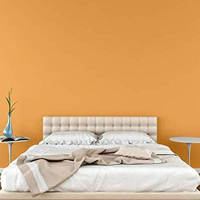 Tempaint Removable Self 23 6 Inches Wide By 32 2 Feet Long Roll Color 40 Orange Wallpaper Diy Wall Decals Contact Paper Decorative