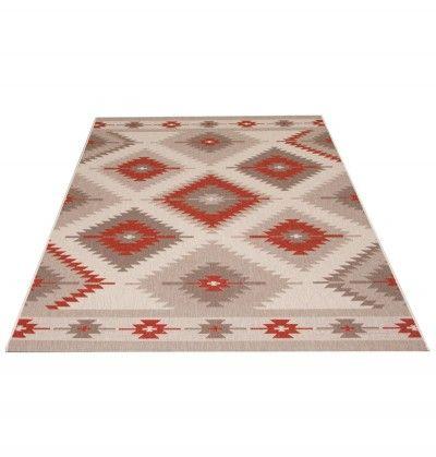 Vintage Teppich Türkis gemustert 120x170 cm, Frisee Modern - klick ...