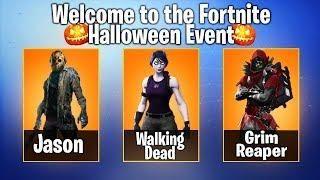 Rare Halloween Skins Fortnite.New Fortnite Halloween Skins Leaked Halloween 2018