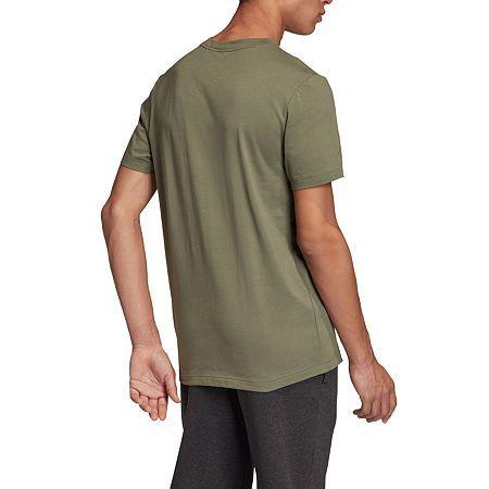 Adidas Mens Crew Neck Short Sleeve T Shirt In 2020 Adidas Men