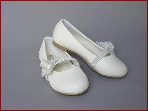 Bruidsmeisjes schoenen bloem. Maat 23 t/m 35 (301)