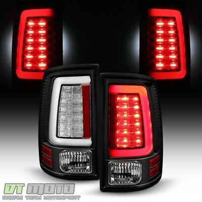 Ad Ebay New Black V2 2009 2018 Dodge Ram 1500 2500 3500 Led Tube Tail Lights Brake Lamps Dodge Ram 1500 Dodge Ram Ram 1500