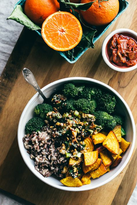 Spicy Asian Bowl of Goodness | Faring Well | #vegan #glutenfree #recipe