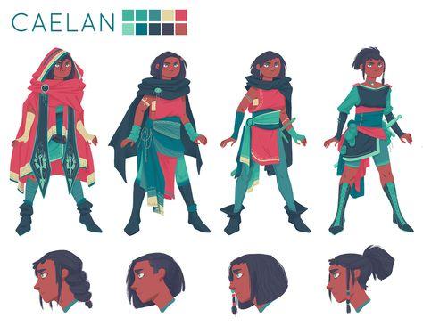Character Design - Bailie Rosenlund Illustration