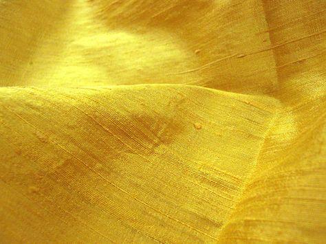 Thai Silk Dupioni - Yellow