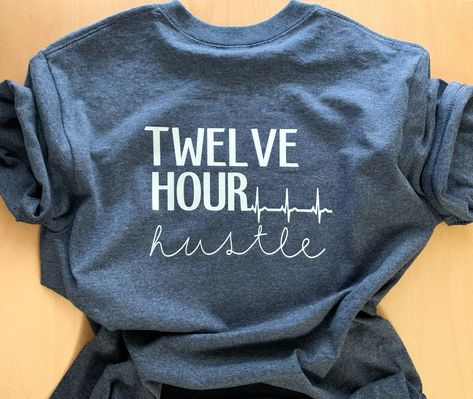 Excited to share this item from my shop: Twelve Hour Hustle Icu Nursing, Nursing Memes, Funny Nursing, Nursing Quotes, Nursing Gifts, Medical Quotes, Funny Nurse Quotes, Nurse Humor, Quotes About Nurses