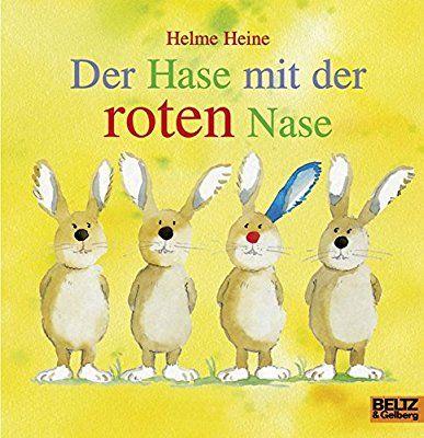 Der Hase Mit Der Roten Nase Vierfarbiges Papp Bilderbuch Amazon De Helme Heine Bucher Bilderbuch Rote Nase Kinderbucher