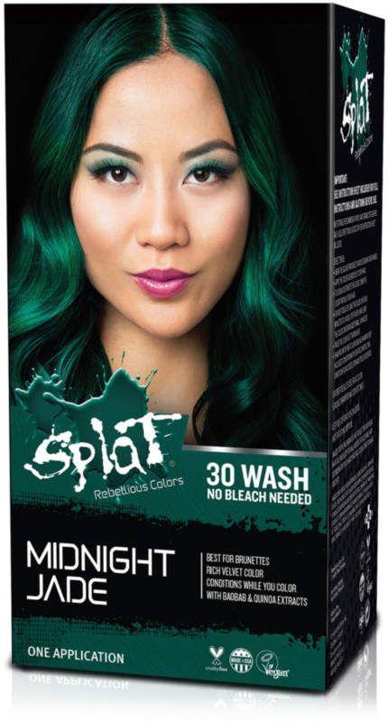 Splat 30 Wash No Bleach Hair Color Kit Wash Out Hair Dye Bleached Hair Bleach Hair Color