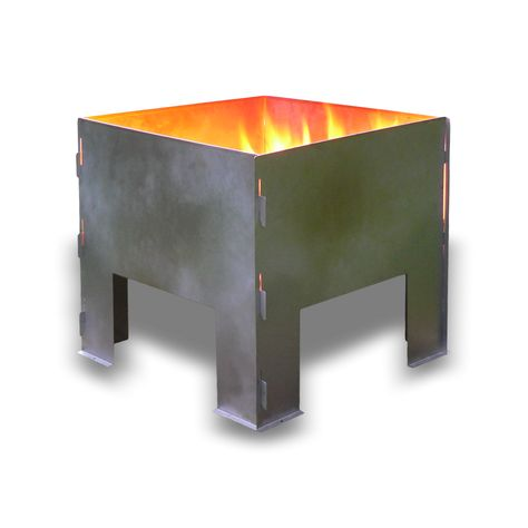 Portable Fire Pit - Boutique Camping
