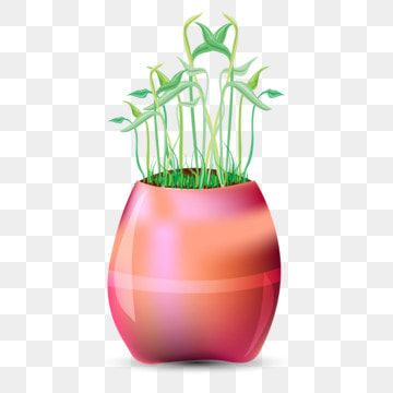 Office Table Stylish Flower Pot Flower Flowers Colourful Floers Png And Vector With Transparent Background For Free Download Flower Pots Flower Frame Flower Border