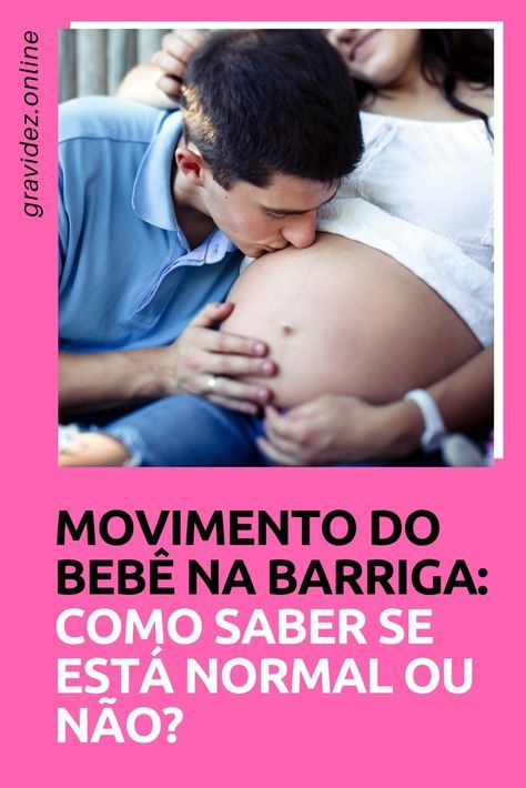 Movimento Do Bebe Na Barriga Bebe Na Barriga Barriga De