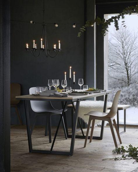 Tables De Noel En Eucalyptus 10 Idees Table De Noel Salle A