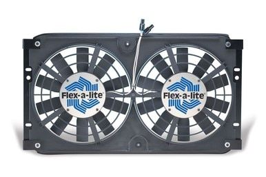 Direct Fit Dual Electric Radiator Fan System 10 Blade 72 86 Jeep