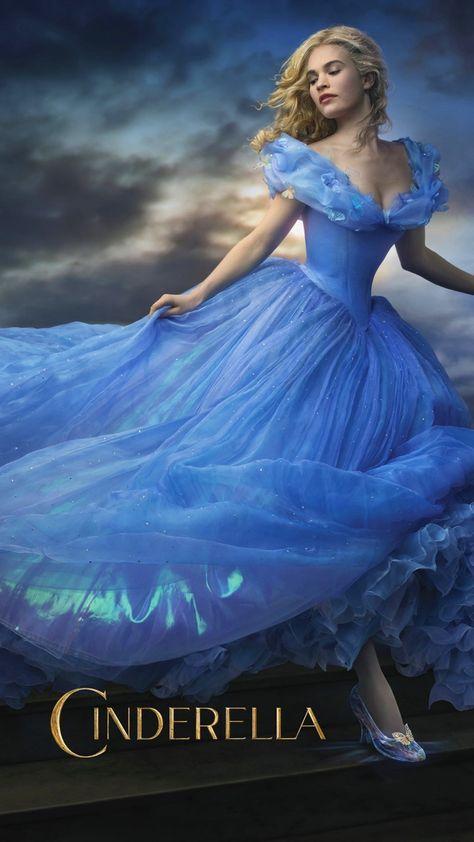 HD wallpaper: Cinderella Movie 2015, Cinderella poster, Movies, Hollywood Movies