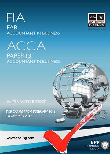 Free Acca F3 Bpp Exam Kit 2016 2017 Free Acca Study Materials Pdf Books Download Study Materials Books
