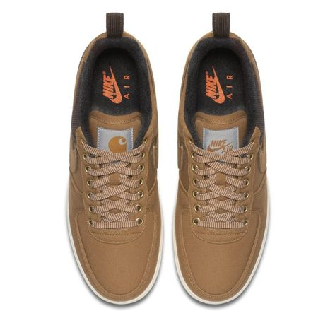Nike x Carhartt WIP Air Force 1 Men s Shoe - Brown  d6f64fe6e