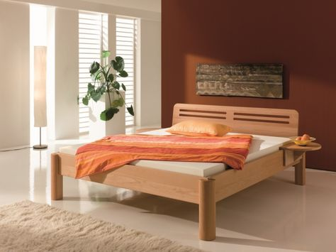 Bett Smalli BettKonzept - solid wood beds Pinterest - dream massivholzbett ign design
