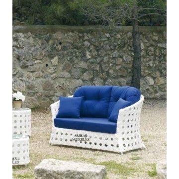 Sofá de Jardín Lanzarote #Ambar #Muebles #Deco #Interiorismo #Jardin ...