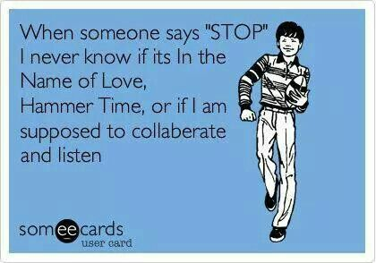 stop collaborate and listen