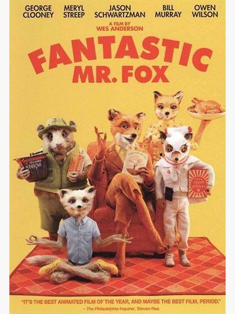 fantastic mr.fox Poster